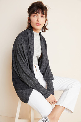 Maeve Ingrid Cocoon Cardigan By in Grey Size M