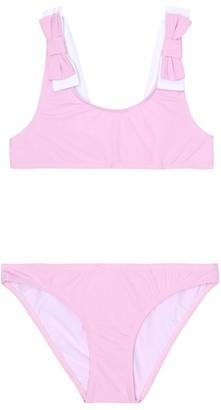 Il Gufo Bow-trimmed bikini