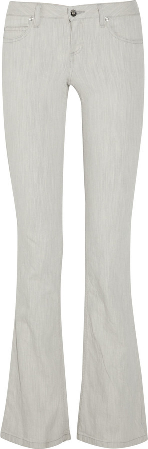 Theory Sineli Worldly low-rise flared jeans