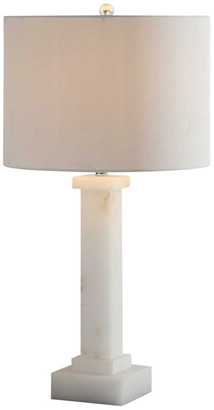 Crestview Collection Kinsley Table Lamp, Alabaster
