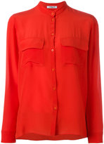 Cacharel mandarin neck shirt - women - Silk - 38