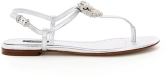 Dolce & Gabbana Devotion Thong Sandals