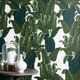 Banana Leaf Print Mural Wallpaper