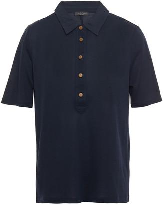 Rag & Bone Jersey Polo Shirt