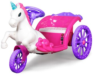 Best Ride on Cars Best Ride-On Unicorn Carriage Car