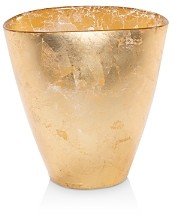 Vietri Moon Glass Leaf Small Vase