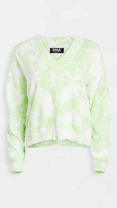 Dna Tie Dye Sweater
