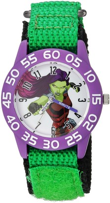 Marvel Girls Guardian Analog-Quartz Watch with Nylon Strap