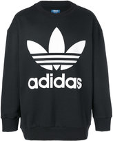adidas logo sweater - men - Cotton - S