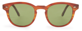 Garrett Leight Warren square-frame sunglasses