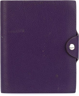 Hermes Pre-Owned 2005 ring binder notebook cover