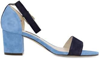 Nine West Trip 1 Suede Ankle-Strap Sandals