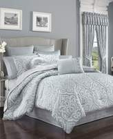 J Queen New York Harrison Chrome Queen Comforter Set