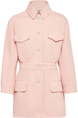 Prada Fitted Buttoned Jacket