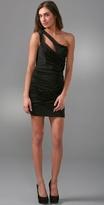 Asymmetrical Harness Dress