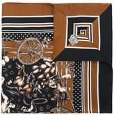Dolce & Gabbana Western print scarf