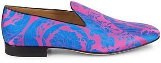 Versace Scroll Smoking Loafers