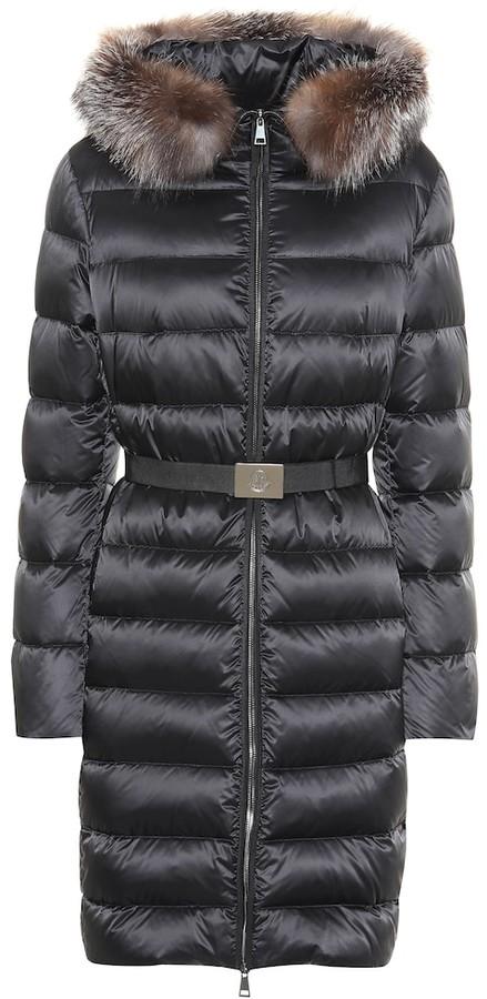 b3d90f8b4 Tinuv fur-trimmed down coat