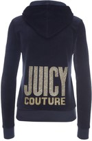 Juicy Couture Logo Velour Jc Starlight Robertson Jacket
