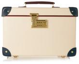 Globe-trotter The Goring 13 Leather-trimmed Fiberboard Vanity Case - Cream