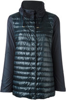 Herno padded front jacket - women - Cotton/Feather Down/Polyamide/Acetate - 42
