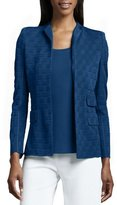 Misook Lilly Textured Jacket, Petite