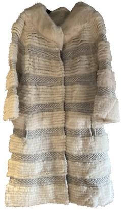 Yves Salomon Ecru Mink Coat for Women