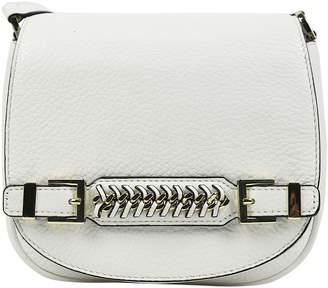 Diane von Furstenberg White Leather Handbags