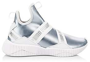Puma Women's Defy Mid Metallic Sneakers