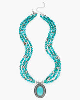 Chico's Ashlee Multi-Strand Necklace