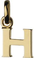 Links of London Alphabet H 18ct yellow-gold charm