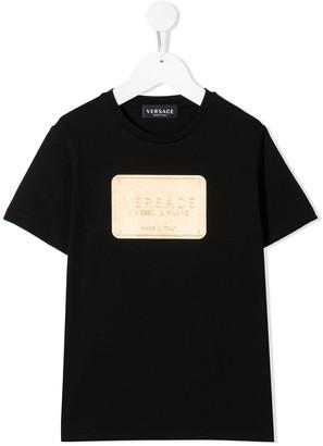 Versace Kids branded T-shirt