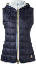 Fay padded vest - women - Polyamide/Polyester/Polyurethane/Feather - M