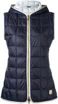 Fay padded vest - women - Polyamide/Polyester/Polyurethane/Feather - M