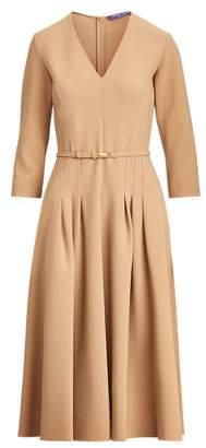 Ralph Lauren Raeana Virgin Wool-Blend Dress