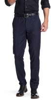 HUGO BOSS Hilion Blue Speckle Print Suit Separates Pant