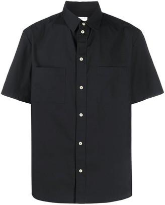 Ih Nom Uh Nit Short Sleeved Rear Print Shirt