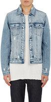 Ksubi Men's Classic Denim Jacket-BLUE