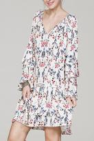 En Creme Long Sleeve Dress