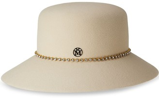 Maison Michel New Kendall embellished hat