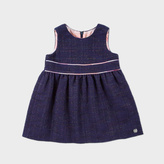 Paul Smith Baby Girls' Glittery-Navy 'Melissandre' Dress