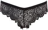 Charlotte Russe Scalloped Lace Cheeky Panties
