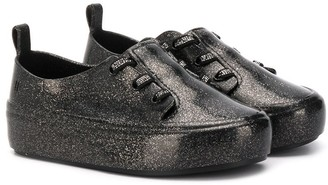 Mini Melissa Glittered Sneakers