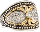 Konstantino Asteri Two-Tone Diamond Ring
