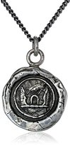 "Pyrrha talisman"" Sterling Silver Luck and Protection Necklace"