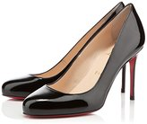 Christian Louboutin Fifi 85 in Black Patent