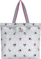 Cath Kidston Mickey and Friends Button Spot Large Foldaway Tote
