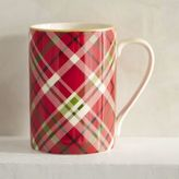 Pier 1 Imports Haddington Plaid Porcelain Mug