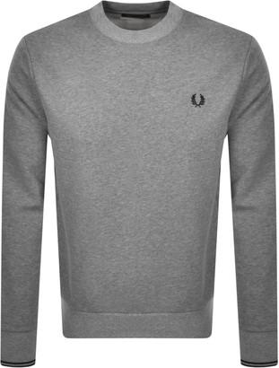 Fred Perry Crew Neck Sweatshirt Grey