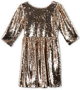 Speechless Sequinned Dress, Little Girls (2-6X)